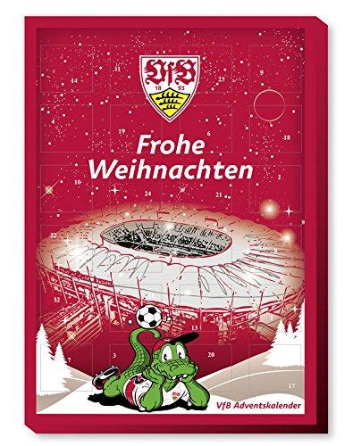 VfB Stuttgart Fußball Adventskalender Kalender 2017 *NEU*OVP*
