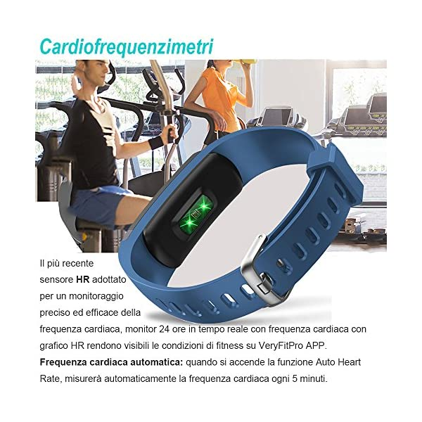 Activity Tracker, Willful® Montre Fitness Tracker Watch Cardio Chronomètre  Cardiofréquencemètre Tracker de fitness poignet bracelet Watch