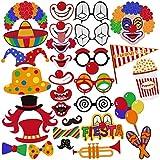 PBPBOX Photo Booth Props f�r Karneval, Geburtstag, Hochzeit Party Requisiten Gef�lligkeiten - 30 St�ck Bild