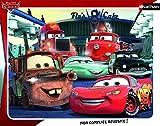 Nathan - 86121 - Puzzle Enfant avec Cadre - Cars - 35 Pièces
