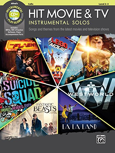 Hit Movie & TV Instrumental Solos for Strings: Songs and Themes from the Latest Movies and Television Shows (Cello), Book & CD