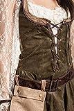 Kostümplanet® Robin Hood Kostüm Damen sexy komplettes Faschingskostüm Damen-Kostüm Karneval kleine und große Größen 52/54 -