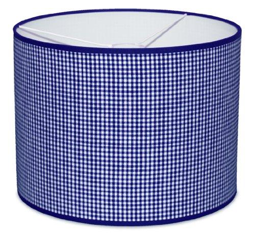 Taftan Suspension Vichy bleu foncé (35 cm de diamètre) - Bleu foncé