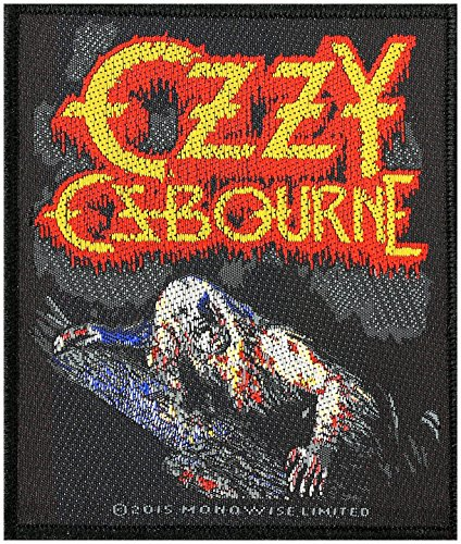 Ozzy Osbourne Bark At The Moon toppa in tessuto 8,5 x 10 cm
