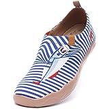 uin Scarpe Ginnastica Scarpe Espadrillas Ferry Well per Donna Casual Slip on Mocassini Sneakers Basse Colorate in Tela Dipint