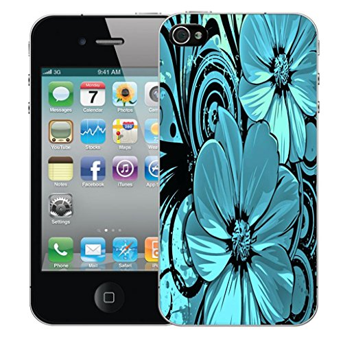 Mobile Case Mate iPhone 5 clip on Dur Coque couverture case cover Pare-chocs - doodles Motif darling bloom