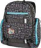 """Local Daypack Multifunktionsrucksack mit Board Tragesystem, Rucksack mit 15"""" Laptopfach, einfacher Schulrucksack, Basic Schoolbag, 27 L, 1151-878040_GAMING, 640 g"""