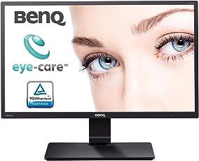 BenQ 21.5 inch (54.6 cm) Slim Bezel LED Monitor - Full HD, VA Panel with VGA, DVI Ports - GW2270 (Black)