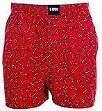 Happy Shorts Webboxer Herren Boxer Motiv Boxershorts Farbwahl, Grösse:M - 5-50, Präzise Farbe:Design 33