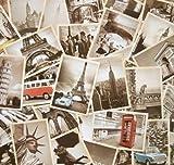 Outop 32 Stk. 1 Satz Alte Hübsche Vintage Retro Reise-Postkarten für wert zu sammeln