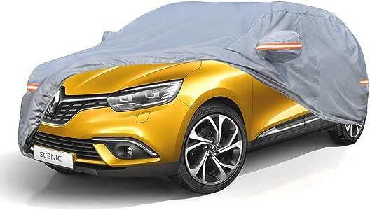 NEVERLAND Housse de voiture SUV imperm/éable 210T r/ésistante au vent ext/érieur Protection UV compl/ète Siver voiture