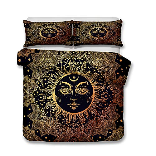 RIC-CLO Mandala - Guardián - Sol Luna - Ligera Microfibra