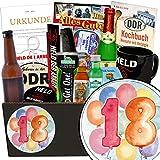 Geschenk zum 18. | Geschenk Idee | Geschenke 18 Hochzeitstag | INKL DDR Kochbuch