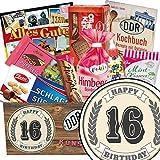 16. Geburtstag Geschenk | DDR Süssigkeiten Set | Geschenk Box