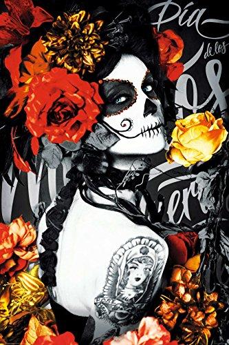 REINDERS Tag der Toten - Poster 61 x 91,5 cm (Tag Der Toten Poster)