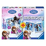 Ravensburger Disney Frozen 3x Kinder Puzzle 25,36,49 Teile inkl. Memory Neu