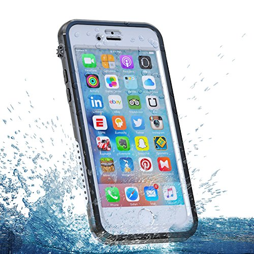 Étui étanche Coque iPhone 6s 4.7 inch, Forhouse 360 Full Dody Imperméable Protection eau Résistant Cover Sport Outdoor Underwater Imperméabilité Housse Antiurto Antipolvere Anti Neve Robusto Militare  blanc