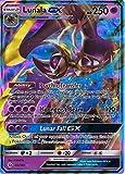 Carte holographique Pokémon Soleil et Lune - Lunala GX 66/149