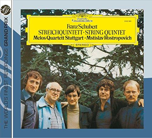 Schubert : Quintette à cordes en ut Majeur D. 956