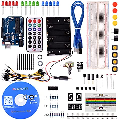Kuman K1 2017 New Basic Learning Starter Kit kits for Arduino with UNO R3