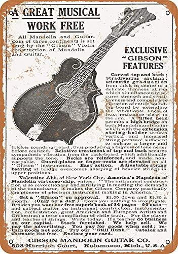 Kilburn 1911 Gibson Guitarras y mandolinas Retro Creative ...