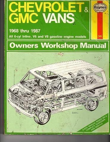 Chevrolet & GMC vans owners workshop manual (Haynes owners workshop manual series)