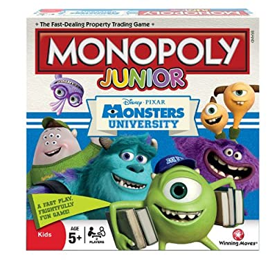 Monsters University Monopoly Junior Board Game