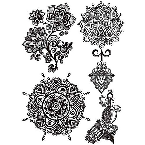 cokohappy-schwarz-lace-spitze-temporare-tattoo-lotusblatt-mandala-indian-totem-henna