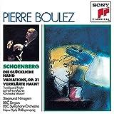 Schoenberg : Die Glückliche Hand - Variations Op. 31 - La Nuit transfigurée [Import USA]