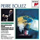 Schoenberg : Die Gl�ckliche Hand - Variations Op. 31 - La Nuit transfigur�e