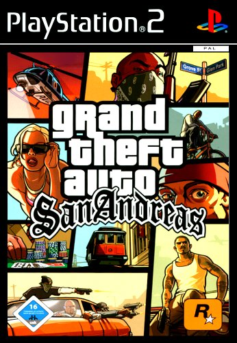 Grand Theft Auto: San Andreas - [Playstation 2] - San Gta Ps2 Andreas