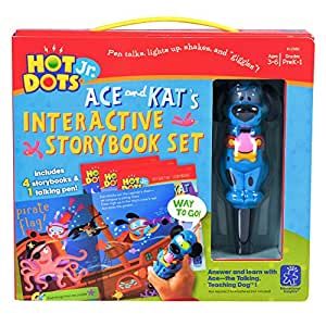 Educational Insights Hot Dots Jr. with 4 Book and Pen Set