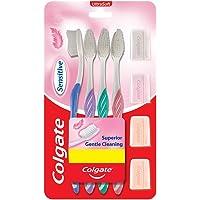 Colgate Sensitive Soft Bristles Toothbrush - 4 Pcs