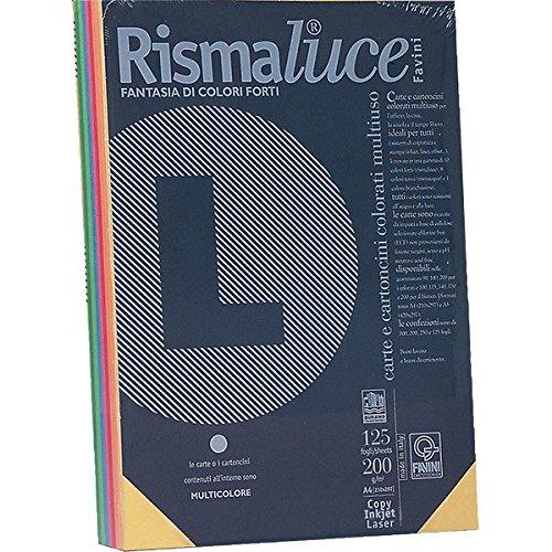 favini-a69x504-rismalucea4-cartoncino-colorato-200-g-mq-assortiti-5-colori