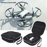 LICHIFIT - Funda de Piel sintética + EVA portátil de Viaje, Bolsa de Almacenamiento, Funda de Mano para Ryze Robotics dji Tello FPV Drone Mini Quadcopter