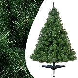 180 cm 370 Spitzen Künstlicher Weihnachtsbaum Tannenbaum Christbaum Tanne Greta