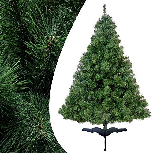 180 cm 370 Spitzen Künstlicher Weihnachtsbaum Tannenbaum Christbaum Tanne Greta grün Weinachten Baum