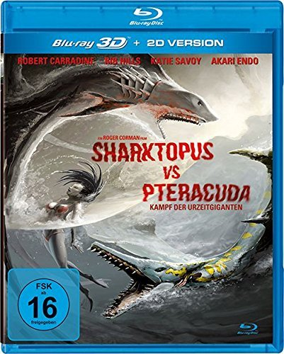 Sharktopus vs. Pteracuda (2014) ( ) (3D & 2D) (Blu-Ray)