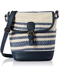 Kanvas Katha Roselina Women's Sling Bag (Black) (KKRJQ027)