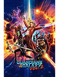 Guardians Of The Galaxy 2 - Characters Poster Mehrfarbig