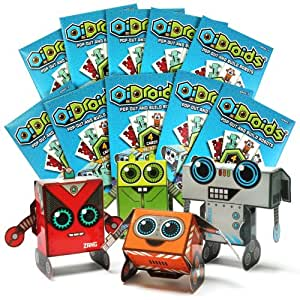 OiDroids Party Pack - 10 sets of OiDroids 4 Packs, Party Bags and Invitations