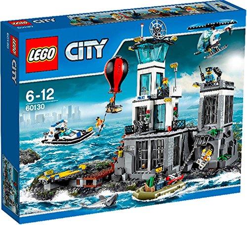 Preisvergleich Produktbild LEGO® City 60130 Polizeiquartier auf der Gefängnis - Insel
