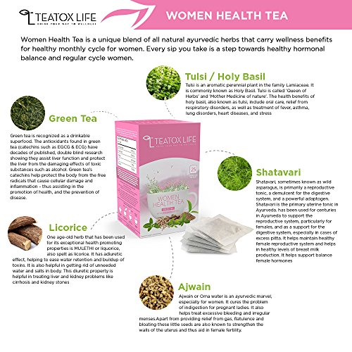 Fertility Tea Blend For Pregnancy & Maternity, To Get Pregnant Fast|  Ovulation & Conception Support As Pregnancy Aid, Regulated Menstrual Cycle  - 25