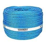 Kanirope® Polypropylenseil SPLIT ø16mm 220m Blau 3-litzig gedreht