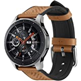 Spigen Retro Fit Compatible con Samsung Galaxy Watch 3 45mm Correa Band (2020) / Galaxy Watch 46mm Band (2018) / Gear S3 Fron