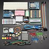 Arduino Kompatibel Basic Vorspeisen-Set Kit Limited Edition 2017–inkl. Online Benutzer Dokumentation–Arduino Genuino Uno R3Set–Extra Komplett–Aktualisierung Uno R3ATmega328P