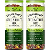 [Sponsored]Nourish Vitals Seed & Fruit Mix - A Sweet Delight - Breakfast / Snacks Trail Mix ( Pineapple, Pumpkin Seeds, Almonds...