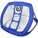Elibeauty - Rete da golf per allenamento ausiliario da golf, rimovibile, per allenamento interno ed esterno