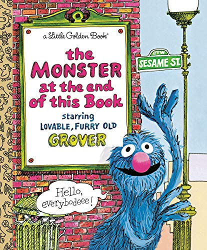 LGB The Monster At The End Of This Book (Sesame Book) (Little Golden Book)