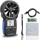 Digitale Anemometer USB CFM Meter AP-866A met USB aansluiting op computer Windtemperatuur/snelheid meten met achtergrondverli
